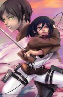Shingeki no Kyojin by darkshia