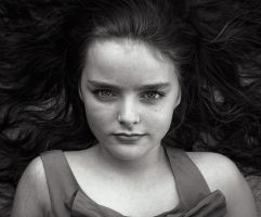 Hair in Bw by Harpyimages