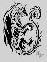 Dragon Tatoo by Dragerdeifrit