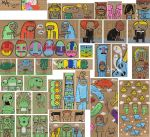 Doodle set 1 by MaP-MaP