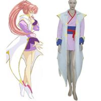 Gundam Seed Lacus Clyne Fighting Cosplay Costume by morseedwina