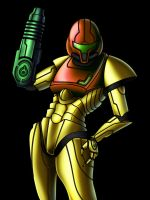 Samus Aran Color by Diogochewbacca
