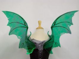 Draconia Bat Dragon Wings Bk by FaeryAzarelle