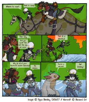 WoW Comic - Short Cut by DivineTofu