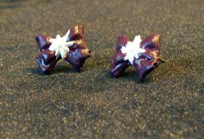Sailor Saturn Bow Earrings by MayuriMoon