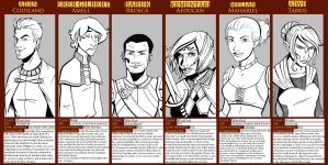 DA Origins Line Up Meme by lubyelfears