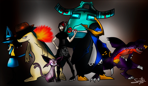 :: Pokemon Team :: by o-Scythe-o