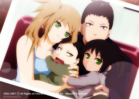 ShikaHima: A family Picture by annria2002
