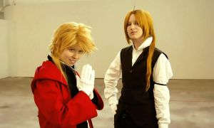 FMA :: Elric are back by Black--Deamon