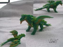 Green Dragon by VictorCustomizer
