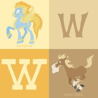 W for Horse by Citron--Vert