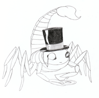 Barnabas the Scorpion by DeviBrigard