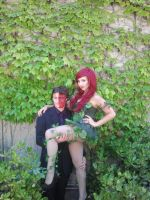 Poison Ivy and Two-Face at Stockton-Con by LoneWHunt