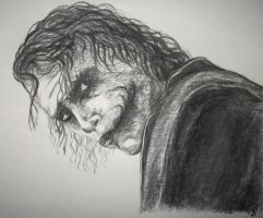 Heath Ledger - Joker by Bubuka812