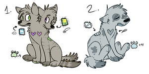 Stuff Kin Adoptables 1 by BlackBloodedKitten