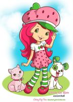 Strawberry Shortcake Fun by HueVille