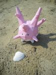 Corsola papercraft by TimBauer92