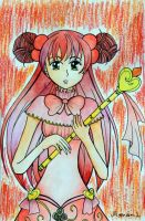 Red Magical Girl by Mana-L
