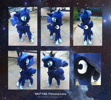 Princess Luna Plush- Reworked by shillermetimbers