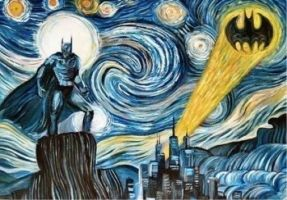 Starry Night.... At Gotham by misspuggsley21