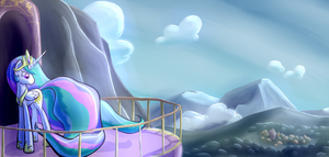 Watching Over Her Kingdom by DarkFlame75