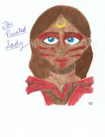 the painted lady by team-kataang