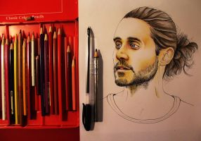 Jared Leto (Thirty Seconds to Mars) by Gutter1333