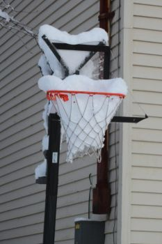 Winter Basketball by oculushabent