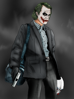 Bozo Joker 'Colored' by Scottendo