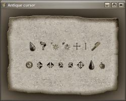 Antique cursor by apbaron
