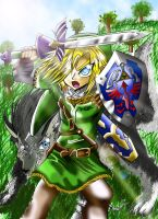 AT: The Legend Of Zelda Link by 3merald-Princ3ss