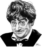 Patrick Troughton by andepoul