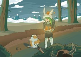 Fionna and the Firecats by lookhappy