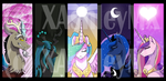 MLP Bookmarks by xAshleyMx