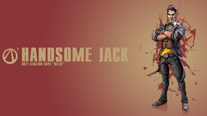 Borderlands 2 Handsome Jack Wallpaper by CodyAWilliams