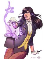 Zatanna Colors by Paris Alleyne by MattSimas