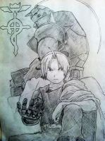 Edward and Alphonse Elric by ParagonNero