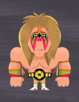 The Ultimate Warrior by TheBeastIsBack