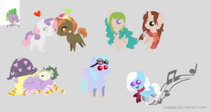 My Little Ponies by Suapple