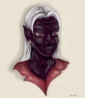 Drow by Verbeley