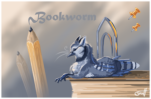 Bookworm by griffsnuff