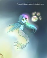 Redraw .:. Mermaid by TinyLittleWatermelon