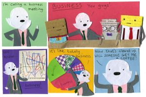 Business Pauline 8 by philippajudith