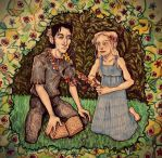 The Secret Garden: Vera and Severus by RosaZaira