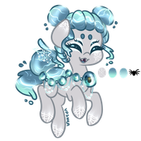 [CLOSED] Diving Bell Pondpony Adoptable by Vpshka
