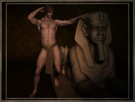 Egyptian Beefcake by CurtieBear