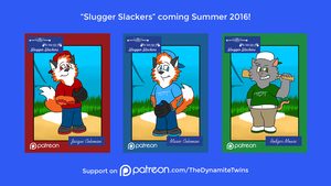 Slugger Slackers Patreon Preview #2 by JWthaMajestic