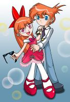 Dexter and Blossom by Vallylight