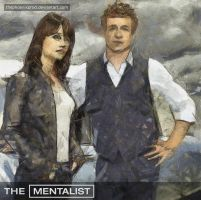 The Mentalist - Patrick Jane and Teresa Lisbon by thephoenixprod