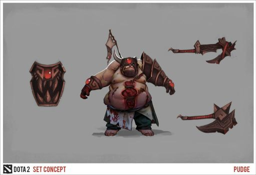Pudge Concept 01 by MrScrake